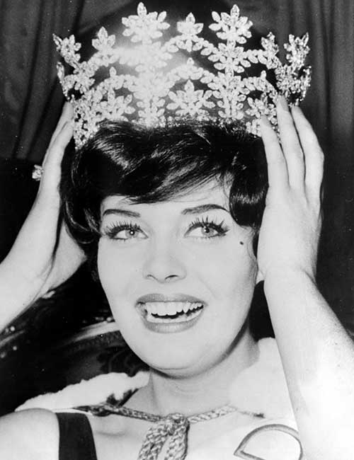 Miss World Of 1961 – Rosemarie Frankland