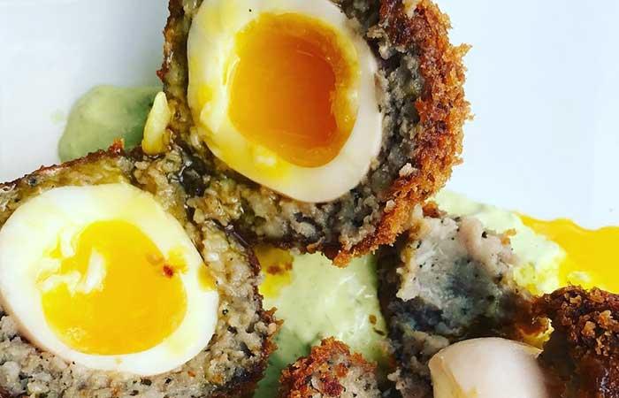 Scotch Egg Recipes - Crispy Sausage Scotch Eggs