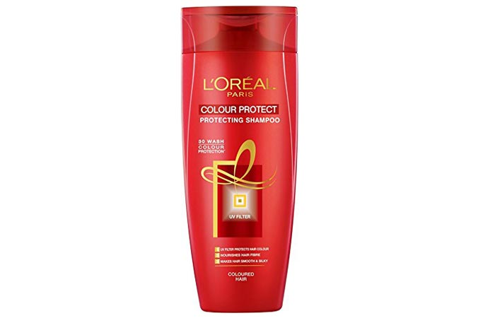 Best hair dye shampoos available in india our top 10 loreal paris colour protect shampoo pmusecretfo Choice Image