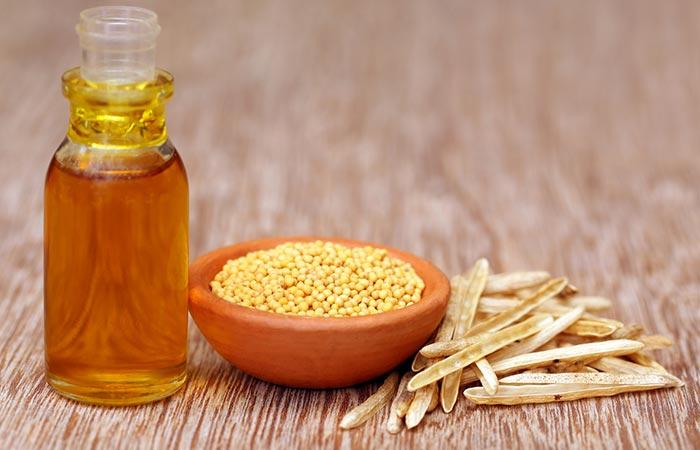 7. Mustard Oil