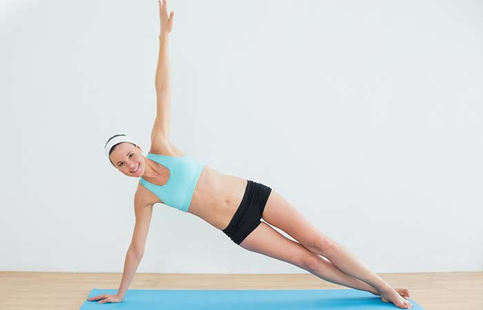 Plank Excercises - Side Arm Plank