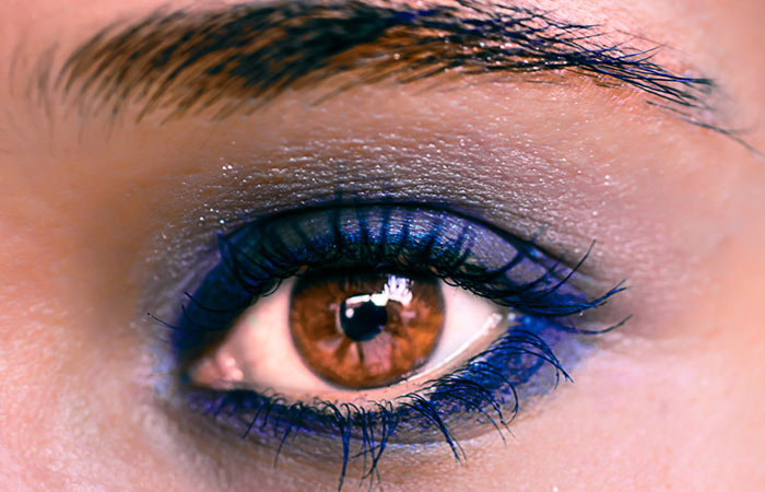 Cobalt Blue is Hot Color for Brown Eyes