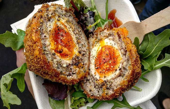 Scotch Egg Recipes - Cottage Cheese Scotch Eggs