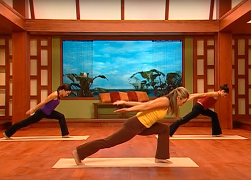 The Total Body Toning - Denise Austin's Yoga