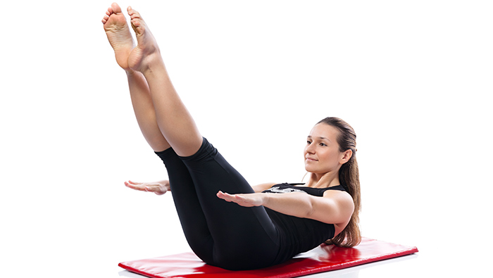 Pilates Exercises To Increase Height - Hundred Abdominal Exercise