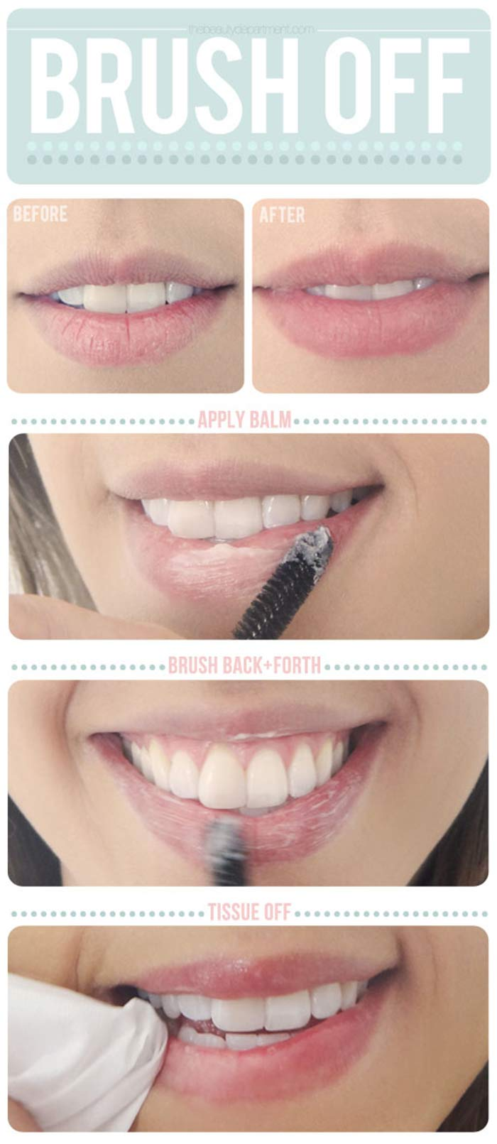 Exfoliate Your Lips: Via: Source Pinit