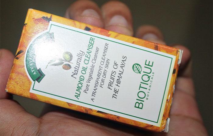 Biotique Almond Oil Cleanser - Review