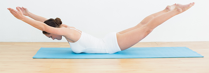 Pilates Exercises To Increase Height - Breast Stroke Exercise