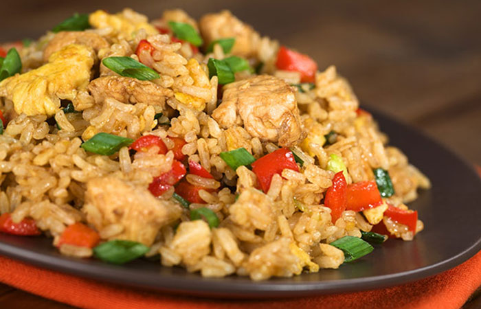 Chicken And Rice Stir Fry