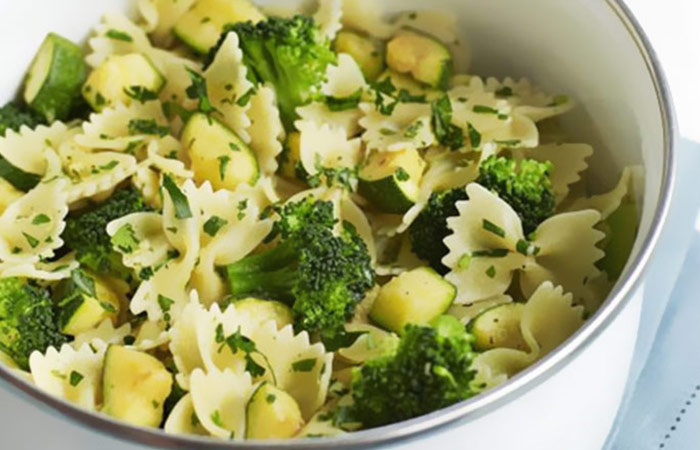 Courgette, Broccoli and Gremolata Pasta