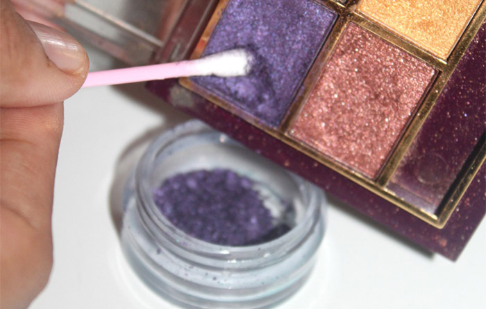 DIY - How To Make Eye Liner With Eye Shadow (2)