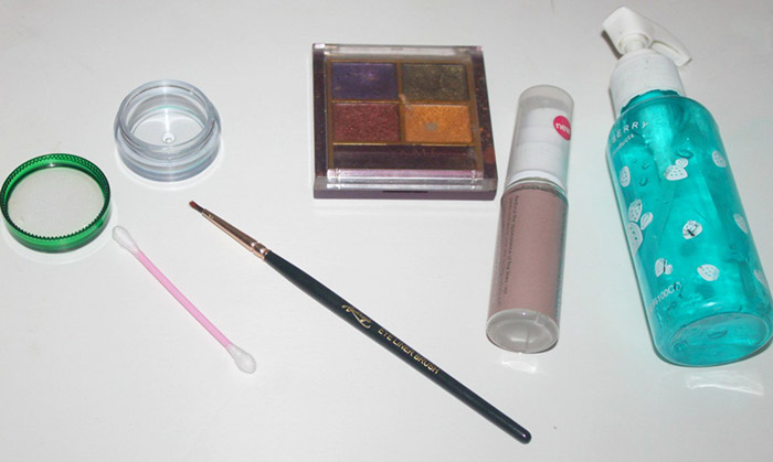 DIY - How To Make Eye Liner With Eye Shadow