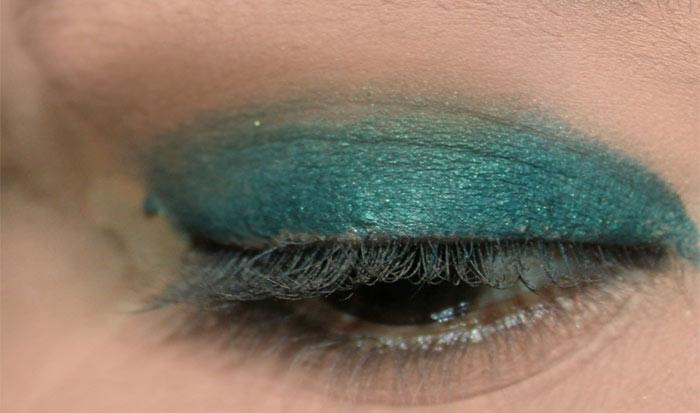 Emerald Eye Makeup Look (2)
