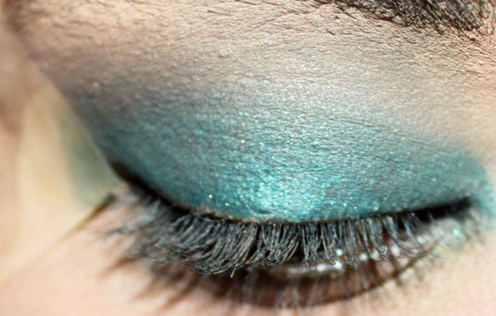 Emerald Eye Makeup Look (3)