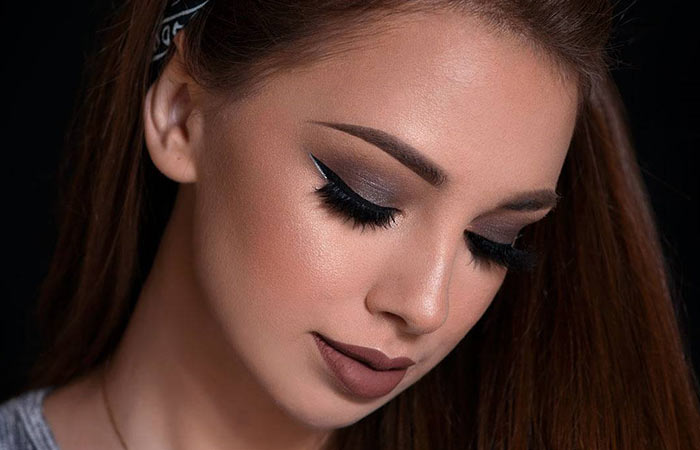 Gray Eyeshadow Makeup For Dark Brown Eyes