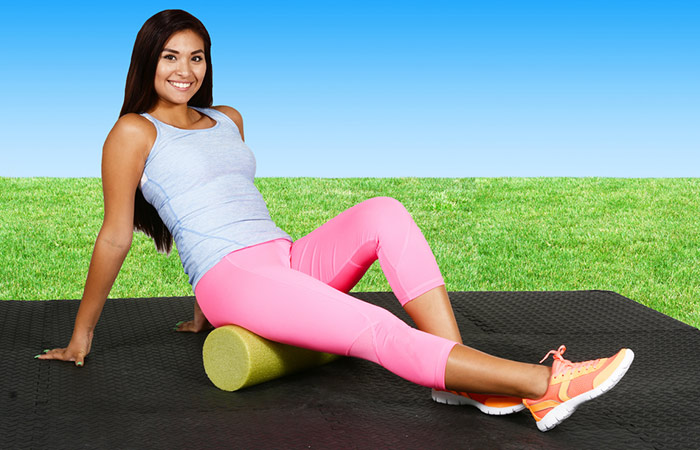 Foam Roller Exercises - Hamstrings And Glutes
