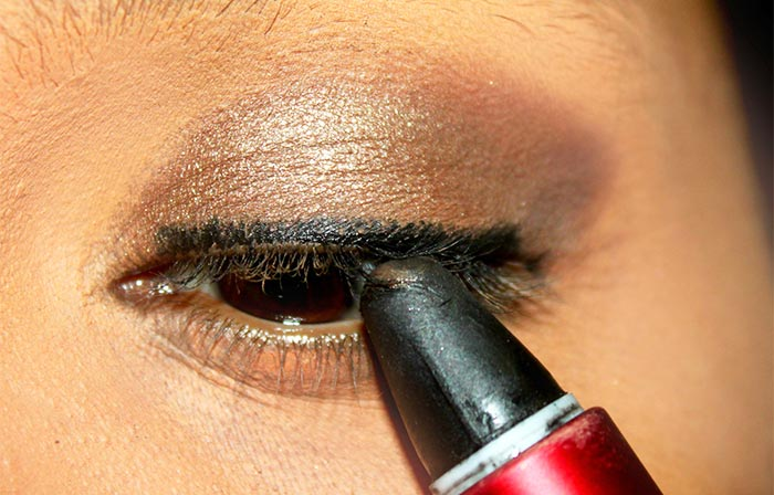 Kajol Inspired Kohl Rimmed Eye Makeup Tutorial (3)