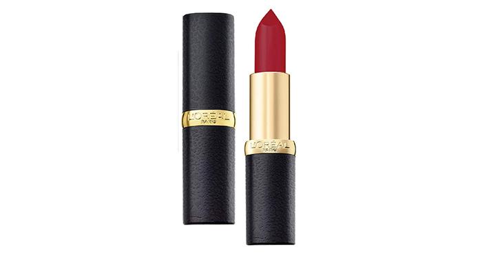 L'Oreal Paris Color Riche Moist Matte Lipstick in Pure Rouge
