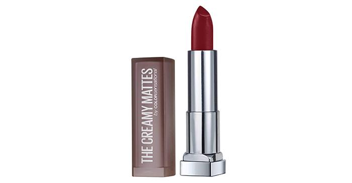 Maybelline New York Color Sensational Creamy Matte Lipstick in Divine Wine