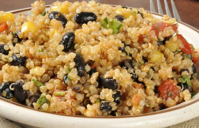 Low Calorie Lunch - Mexican Quinoa