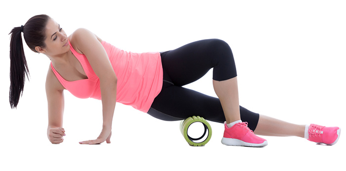 Foam Roller Exercises - Outer Thighs (Iliotibial Band)