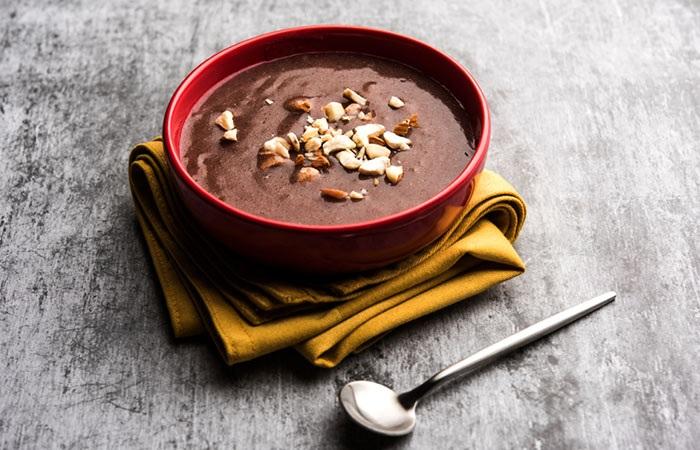 Ragi Dry Fruits Porridge