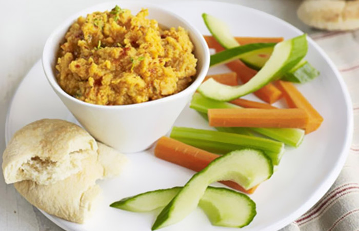 Low Calorie Lunch - Red Lentil And Sweet Potato Pate