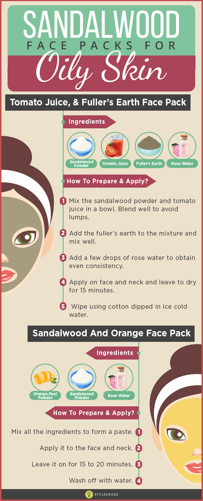 How To Prepare And Apply Chandan Face Packs For Oily Skin?