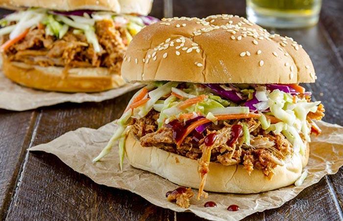 Low Calorie Lunch - Skinny Chicken Sandwich