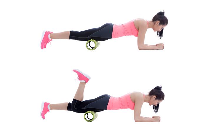 Foam Roller Exercises - Thighs (Quadriceps)