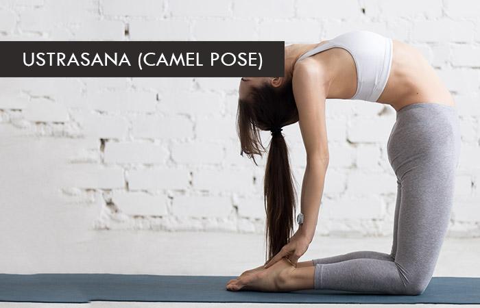 3. Ustrasana (Camel Pose)