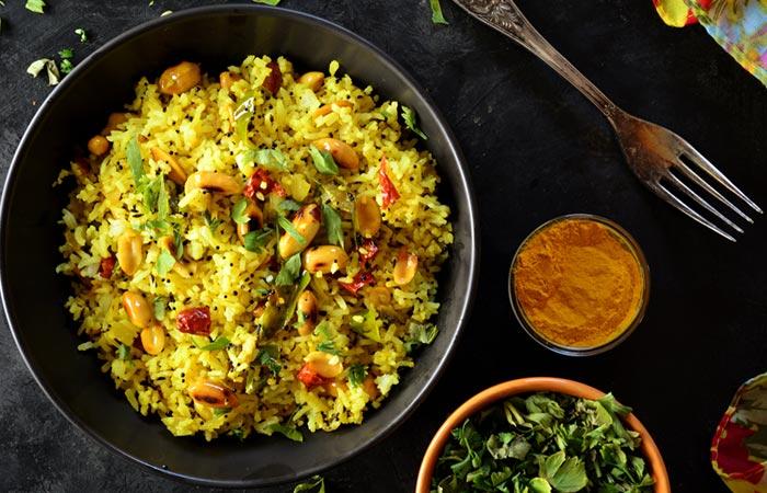 Vegetable Poha