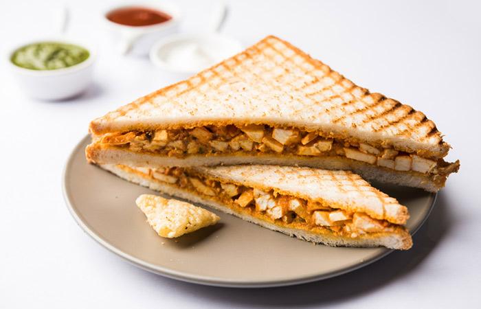 Veggie Paneer Sandwich