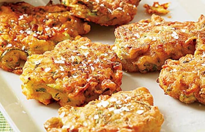 Low Calorie Lunch - Zucchini Fritters