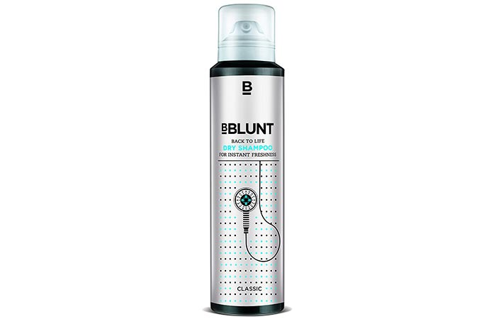 1. BBLUNT Back To Life Dry Shampoo