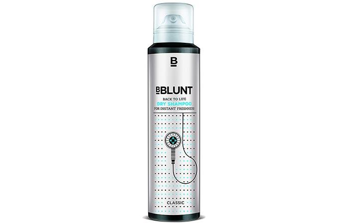 1. BBLUNT Back To Life Dry Shampoo