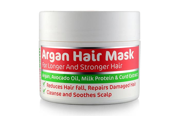 Best Organic Hair Masks - Mamaearth Argan Hair Mask