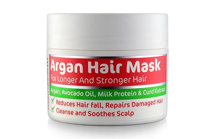 1. Mamaearth Argan Hair Mask
