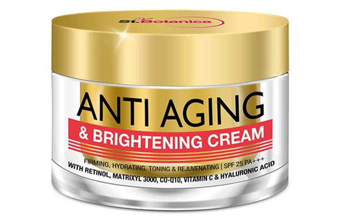 1. St. Botanica Anti Aging & Brightening Cream