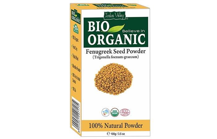 10. Indus Valley Bio-Organic Fenugreek Seed Powder