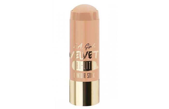 Best Highlighters in India - 12. L.A. Girl Velvet Contour Highlighter Stick