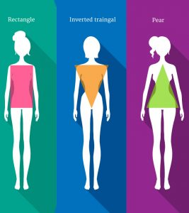 12 Different Body Shapes Of Women