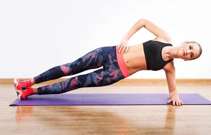 Shoulder Exercises For Women - Side Plank