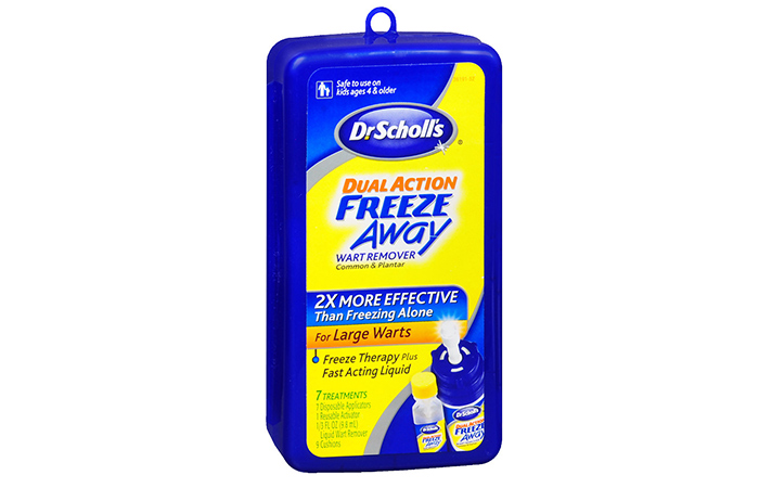 2.-Dr.-Scholl's-Freeze-Away-Wart-Remover - Mole Removal Creams