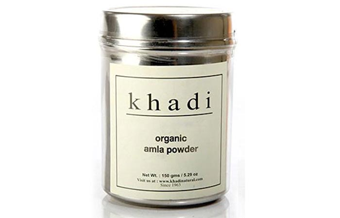 Best Organic Hair Masks - Khadi Organic Amla Powder