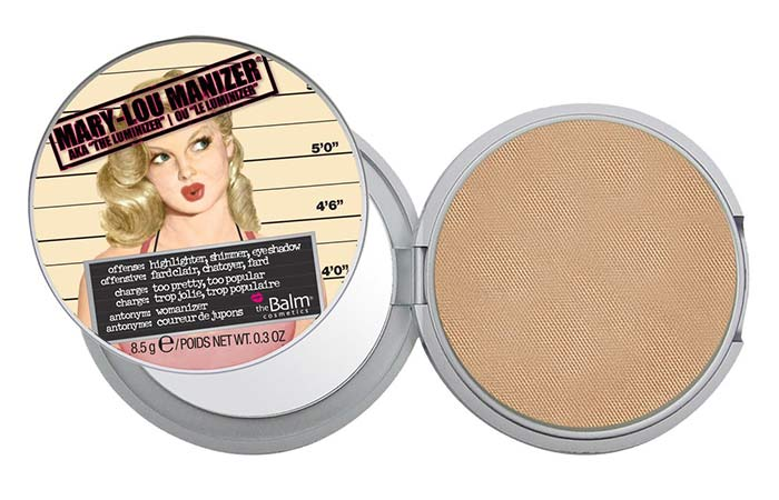 Best Highlighters in India - 2. The Balm Mary-Lou Manizer Highlighter