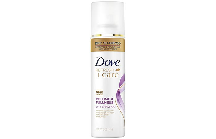 3. Dove Invigorating Dry Shampoo