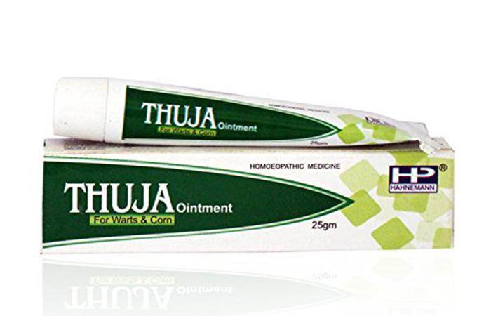3.-Hahnemann-Pharma-Thuja-Ointment - Mole Removal Creams
