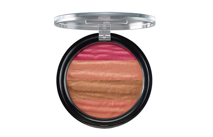 Best Highlighters in India - 3. Lakme Absolute Illuminating Blush, Shimmer Brick
