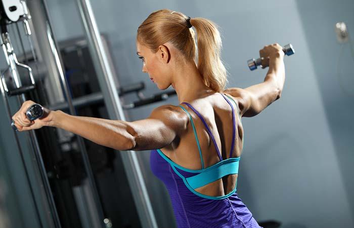 Shoulder Exercises For Women - Lateral Raises